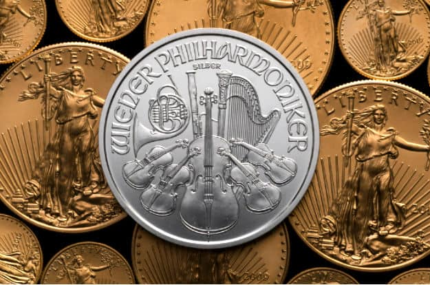 Austrian Silver Philharmonics Coins | Silver Coins You Can Invest Inside Your IRA | purity/ composition 99.9% pure