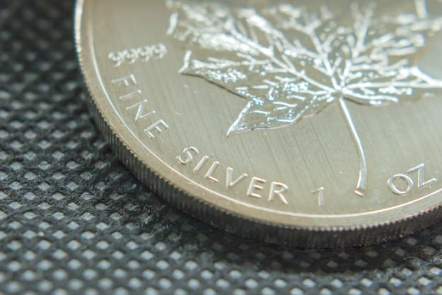 Silver Canadian Maple Leaf | Silver Coins You Can Invest Inside Your IRA | composition 99.9% pure silver