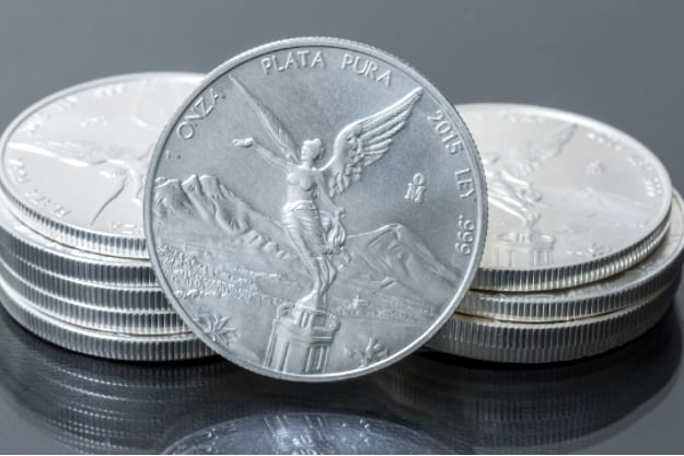 Mexican Libertad Silver Coin | Silver Coins You Can Invest Inside Your IRA | purity/ composition 99.9% pure silver