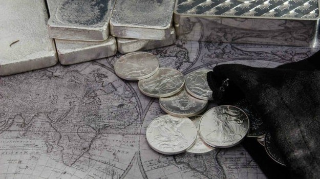 silver bars and coins  | Precious Metals Market: A Complete Guide on Investing in Precious Metals | Inside Your IRA