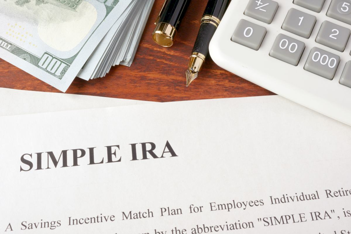 simple ira written on paper   Spousal IRA Contribution Limits   Inside Your IRA   spousal roth ira