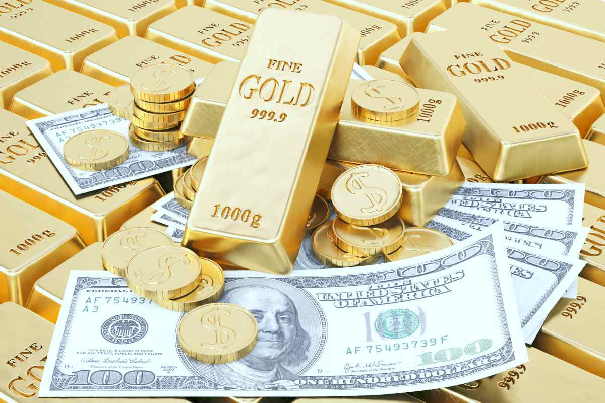 gold bars, coins and money   Gold Price History   Everything You Need To Know   gold price history   buy gold