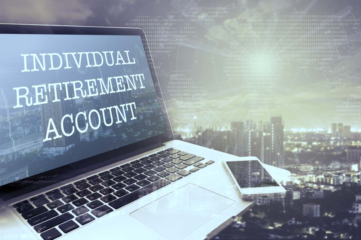 individual retirement account on laptop | What Is Bitcoin And How Can I Invest It In My IRA? | best way to invest in bitcoin
