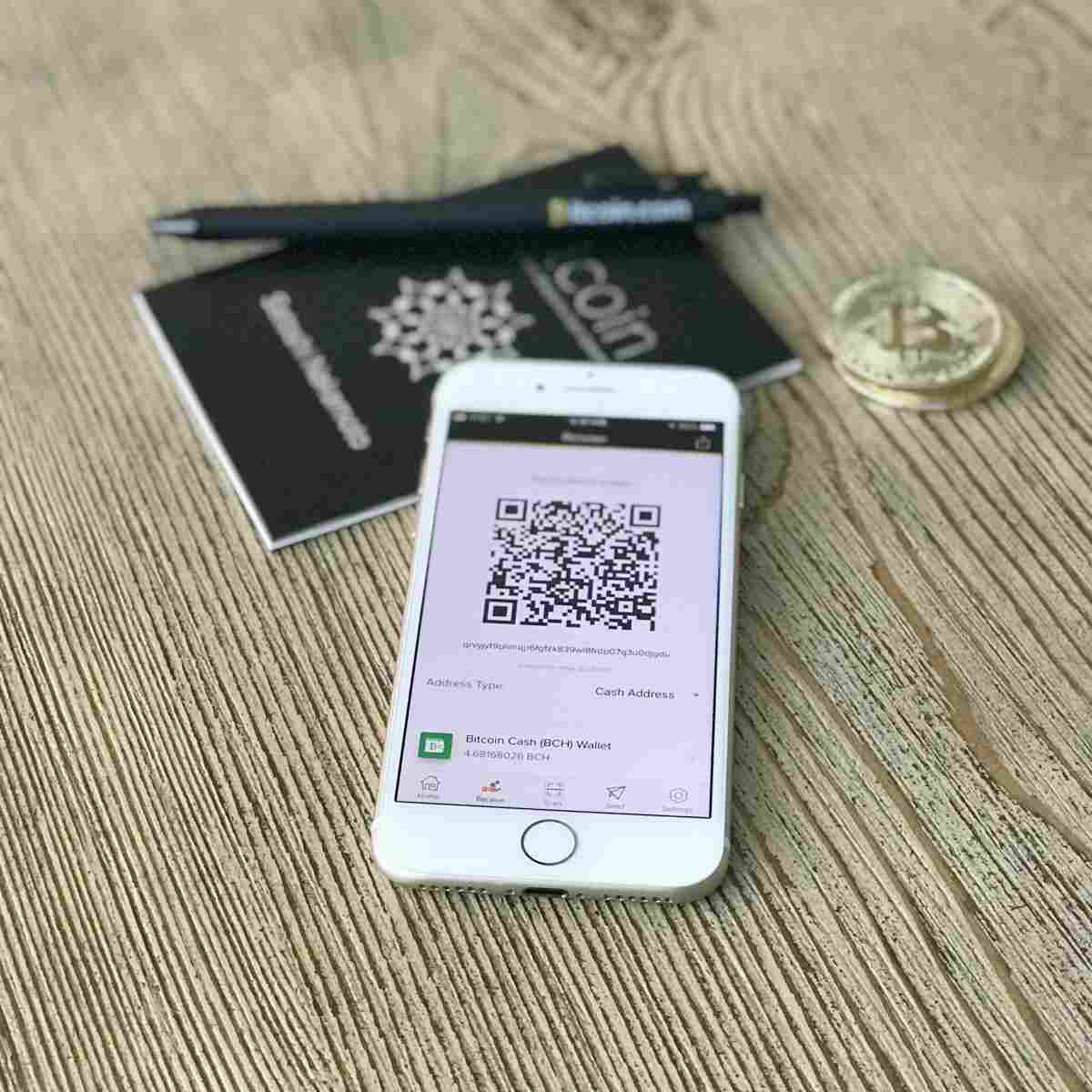 mobile phone showing qr code | Investing in Cryptocurrency | What You Should Ask | investing in cryptocurrency | money