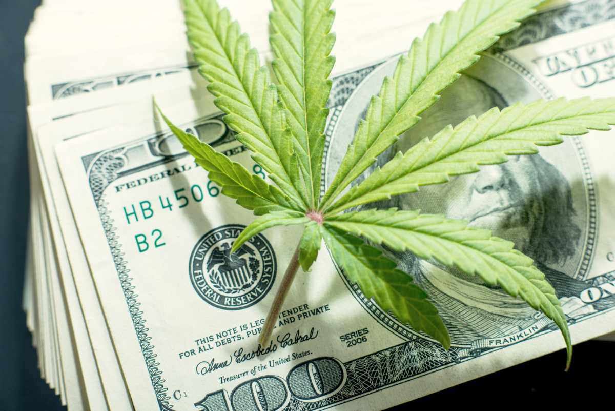 marijuana leaf on money | How To Start Investing In Stocks: The Ultimate Guide | Inside IRA | investing in stocks | stock investing