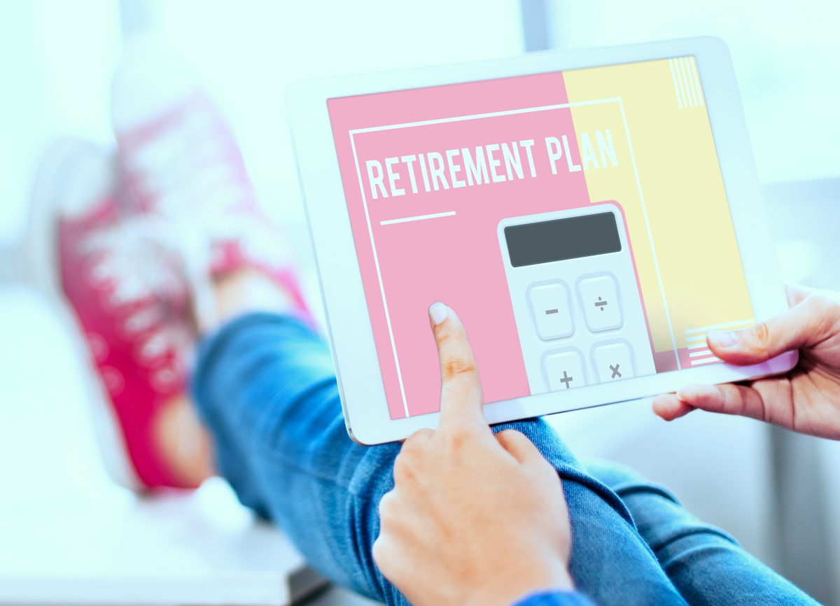 person using tablet | What Are The Best Retirement Planners? Preparing For The Golden Years | Inside Your IRA | retirement planners