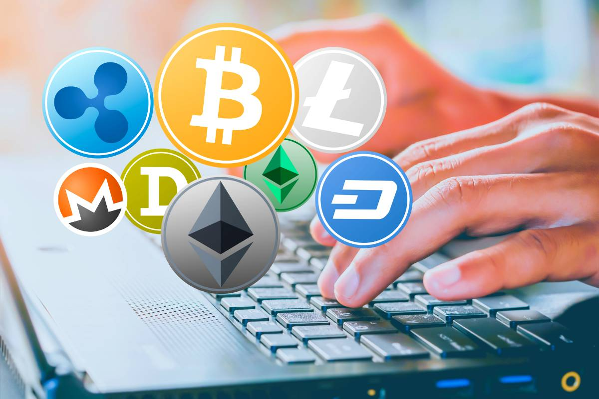 typing on a keyboard | How Cryptocurrency Works | What Is Cryptocurrency Mining? | Inside Your IRA | computing power