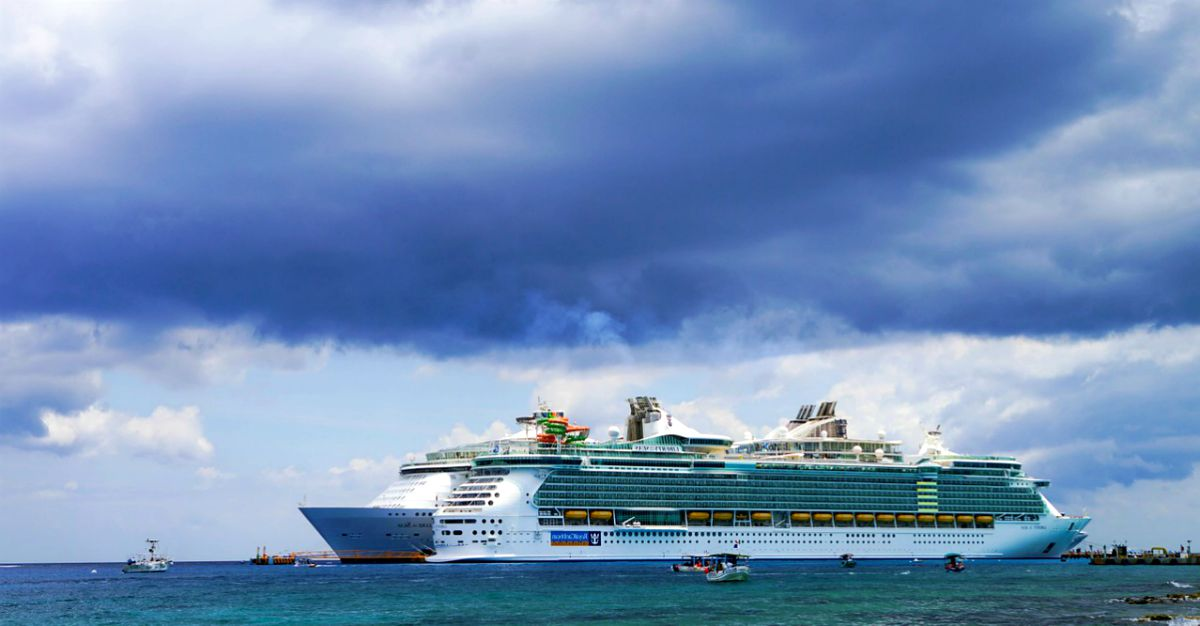 A Caribbean cruise sailing in the sea | Top Senior Cruises For Any Price Point | cruises for seniors with disabilities