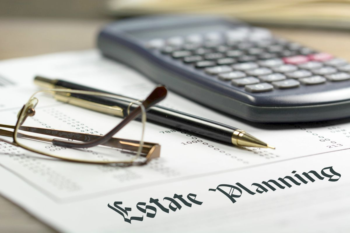 estate planning written on paper | What Is Estate Planning? How to Plan for Your Estate Inside Your IRA | assets
