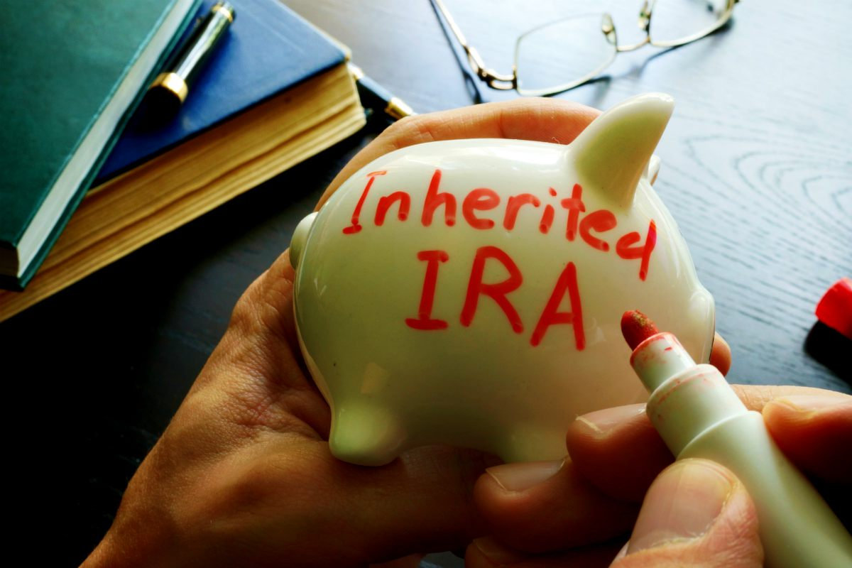 Inherited IRA written on piggy bank | Roth IRA Advantages In Saving For Retirement | Inside Your IRA | benefits of roth ira