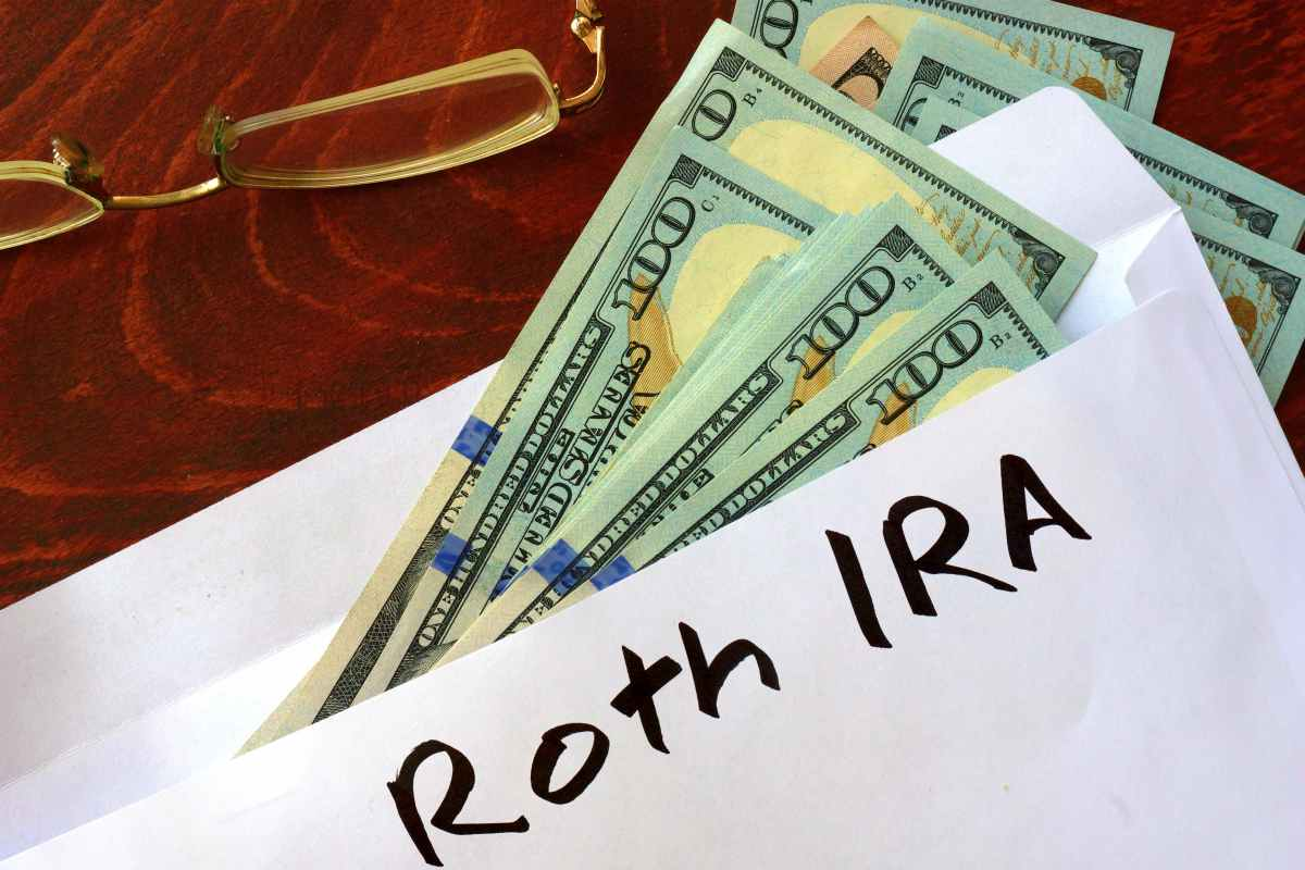 money on a Roth IRA envelope | How To Retire At 50 | Inside Your IRA | how to plan for retirement