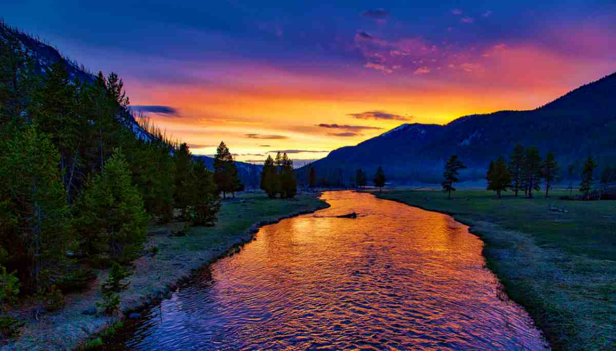 sunset in Wyoming | Best States For Retirement | Inside Your IRA | worst states for retirement | best states to retire