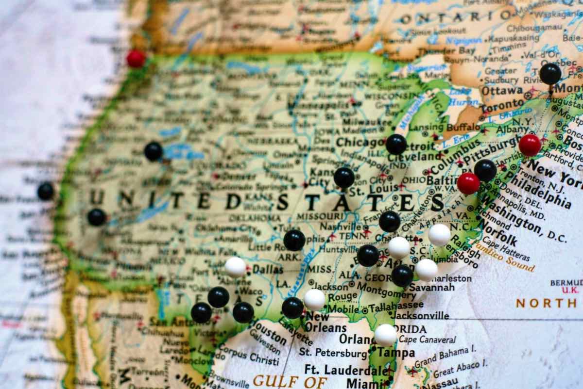 pins on map | When Can I Retire? | Questions To Ask Yourself Before Retiring