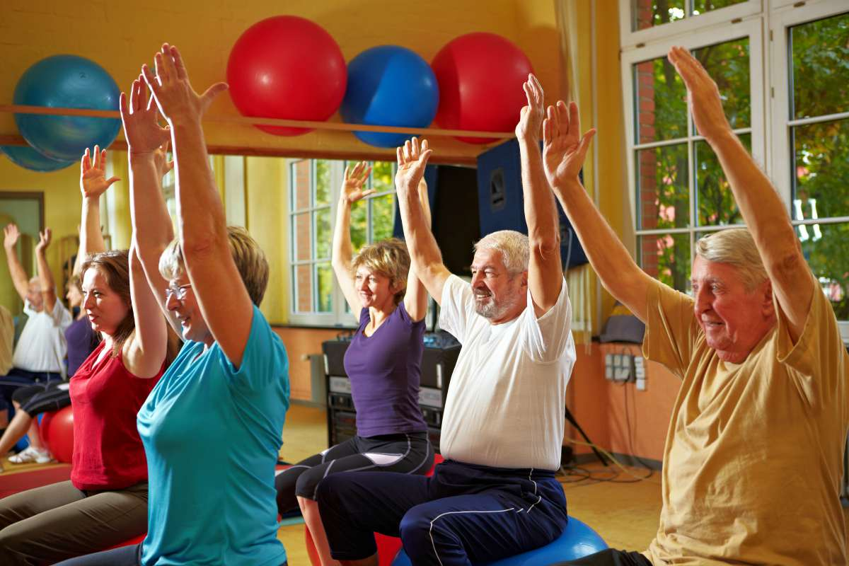 senior citizens stretching working out | Senior Citizens Center | How To Save NOW For A Luxurious Retirement | Inside Your IRA | free services for senior citizens