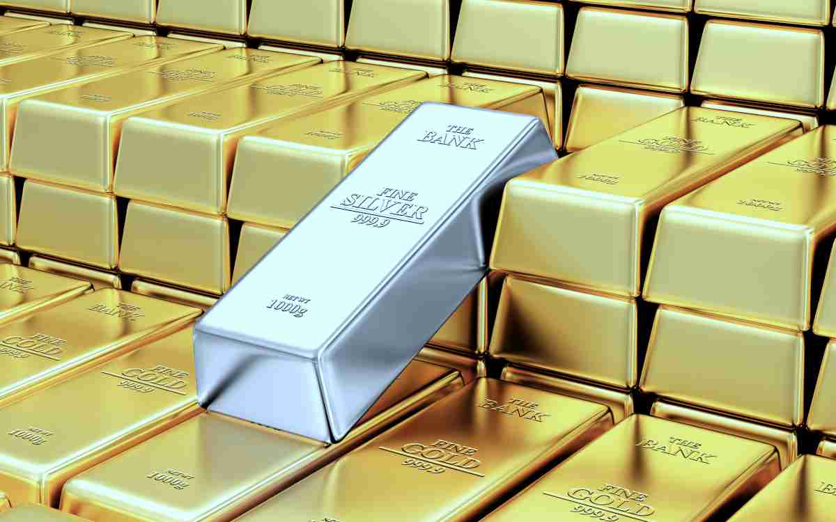 Gold Reserves Silver Bar | Reasons Why You Should Start Investing In Silver And Gold Inside Your IRA | buy gold and silver
