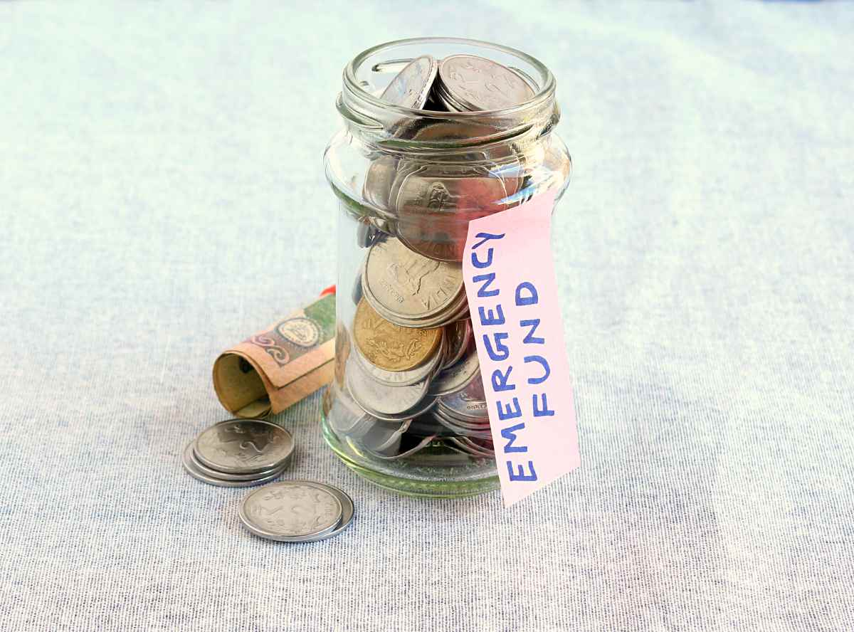 concept emergency fund indicated by handwritten | Financial Resolutions You Can Make For The New Year | Resolutions