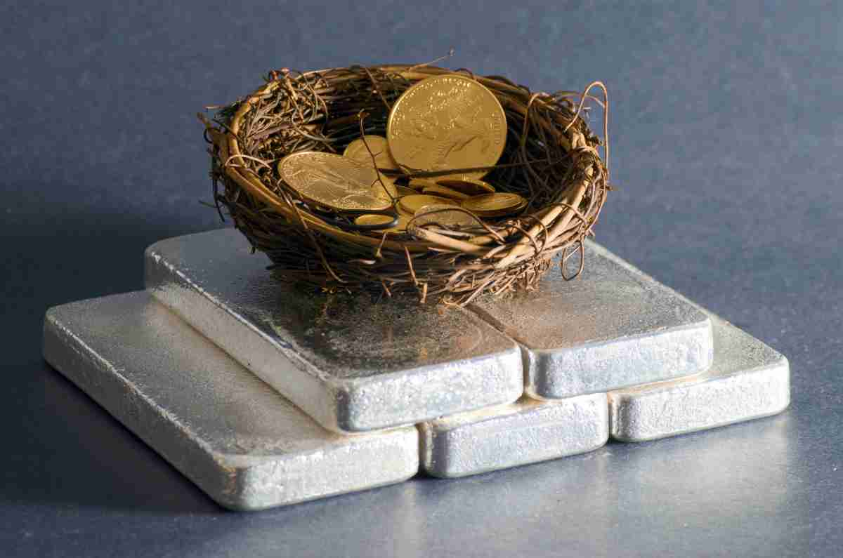 Silver Bars Gold in Nest | Reasons Why You Should Start Investing In Silver And Gold Inside Your IRA | buy gold and silver