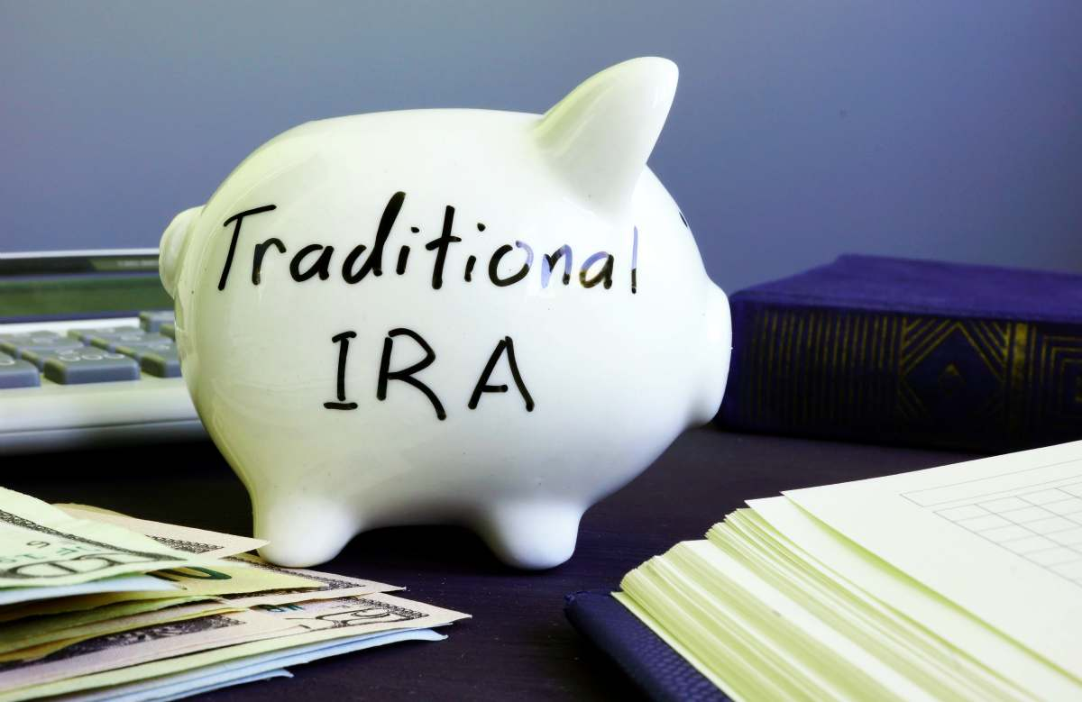 Traditional ira handwritten on a side of piggy bank | IRA Contribution and Income Limits | Inside Your IRA | ira contribution limits