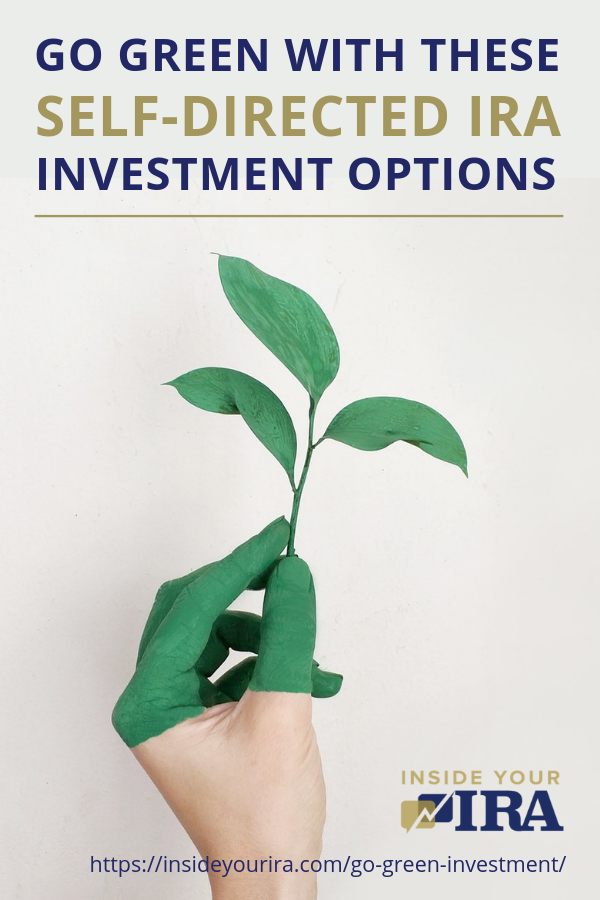 Go Green With These Self-Directed IRA Investment Options | Inside Your IRA https://insideyourira.com/go-green-investment/