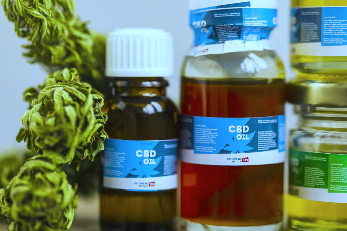 displayed bottles of cannabis oil cbd | Is Investing In CBD Oil Stocks Beneficial? | Inside Your IRA | cannabinoids stocks