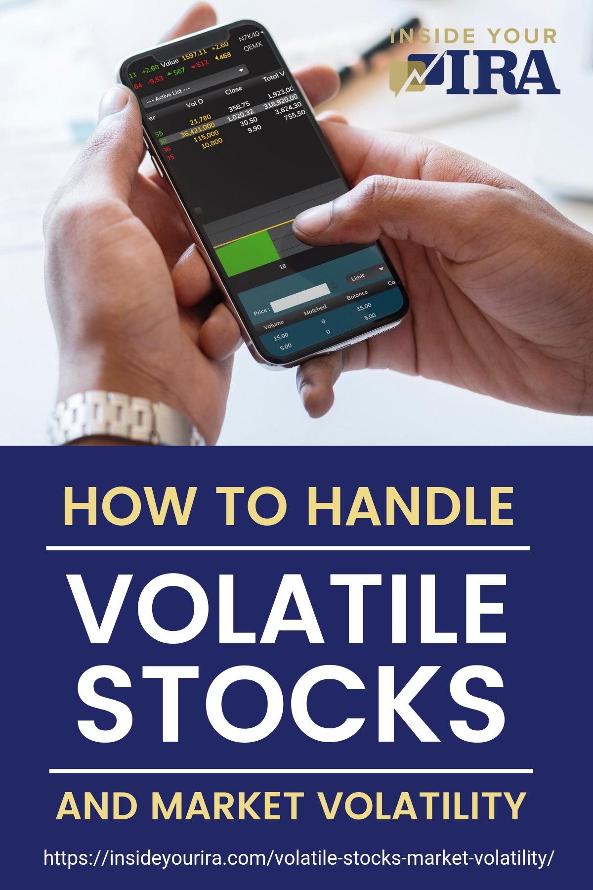 How To Handle Volatile Stocks And Market Volatility | Inside Your IRA https://insideyourira.com/volatile-stocks-market-volatility/