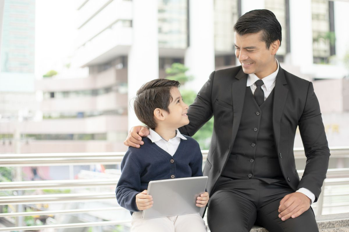 businessman with his son | What Is a Brokerage Account And Why Do I Need To Open One? | Inside Your IRA | best brokerage account