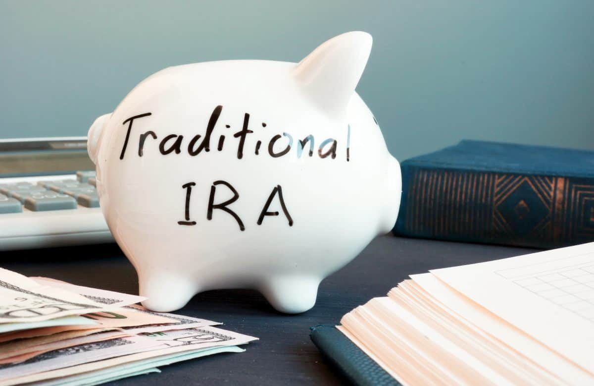 Traditional IRA written on piggy bank | Why Tax Diversification Is Important In Retirement Planning Inside Your IRA | taxes in retirement | tax diversification retirement
